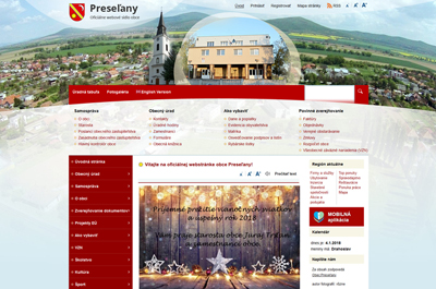 www.obecpreselany.sk